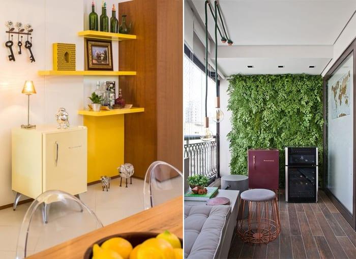 Abuse das geladeiras coloridas e deixe a sua cozinha mais interessante, alegre e charmosa