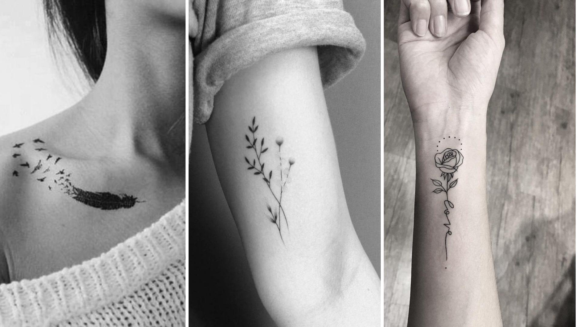 Tatuagem feminina - Breve histórico e + de 100 lindas inspirações