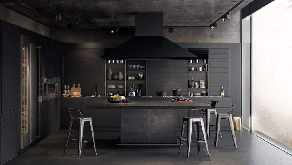 Cozinha preta – Dicas para acertar na decoração e imagens de inspiração