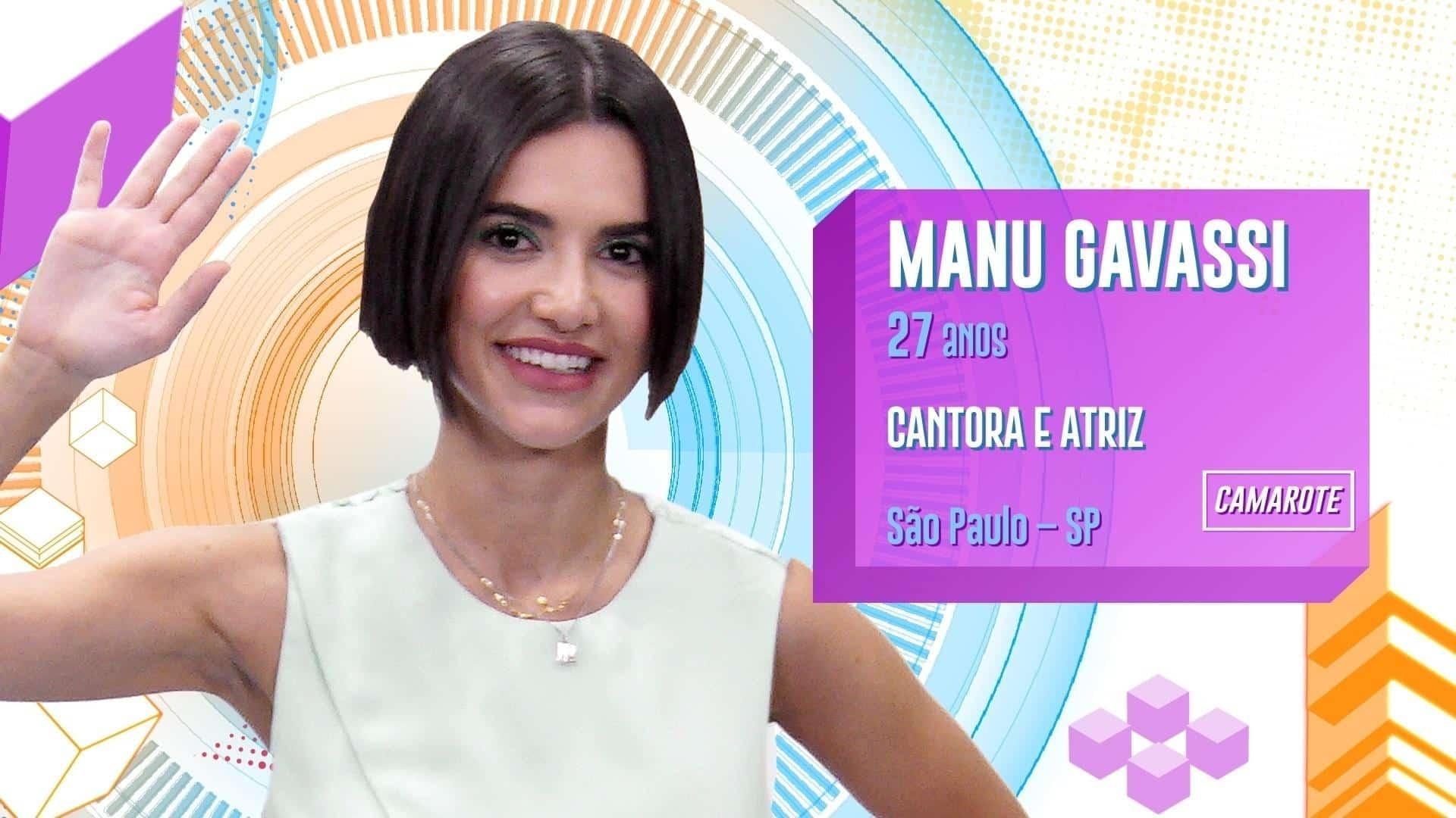 Manu Gavassi- Quem é, principais músicas, curiosidades e BBB 20