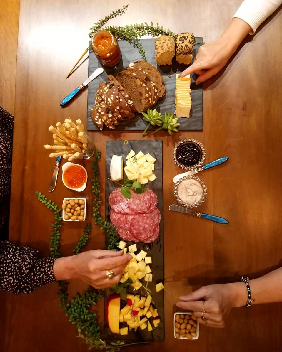 Mesa de frios- Como montar, o que colocar na mesa e quando servir
