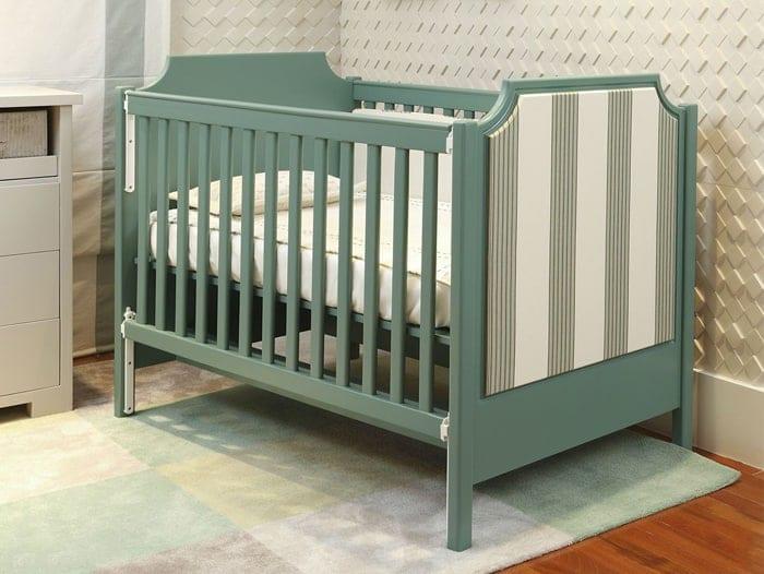 omo usar as cores verde e azul [tendência 2020] na decoração monocromática de seu quarto