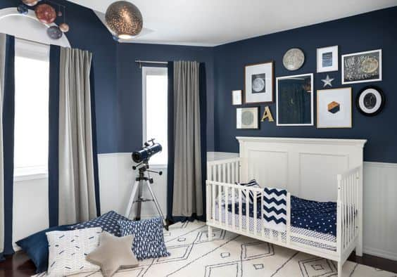 Como usar as cores verde e azul [tendência 2020] na decoração monocromática de seu quarto