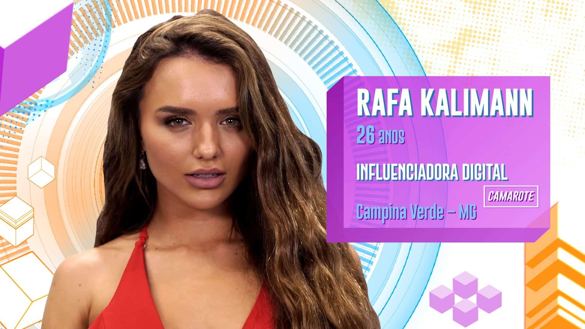 Rafa Kalimann- Quem é, início da carreira, relacionamentos + BBB 20
