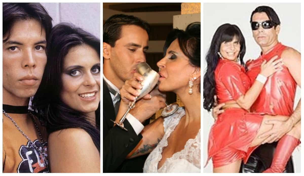 Casamentos de Gretchen - Saiba quem foram os 17 maridos da dançarina