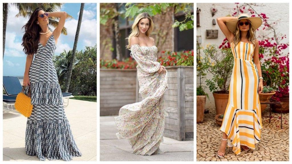 Vestidos de verão – Modelos, estilos e como usá-los em diversas ocasiões