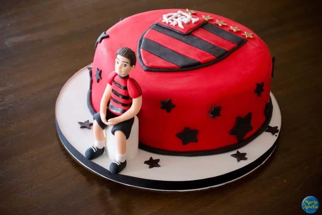 Bolos do flamengo- Mais de 50 ideias de bolos para você se inspirar