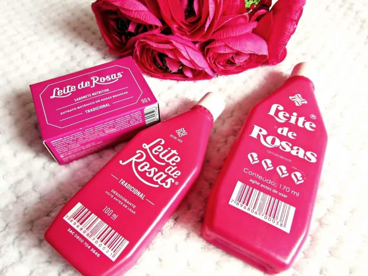 Leite de rosas- Para que serve, como bate as espinhas + contraindicações