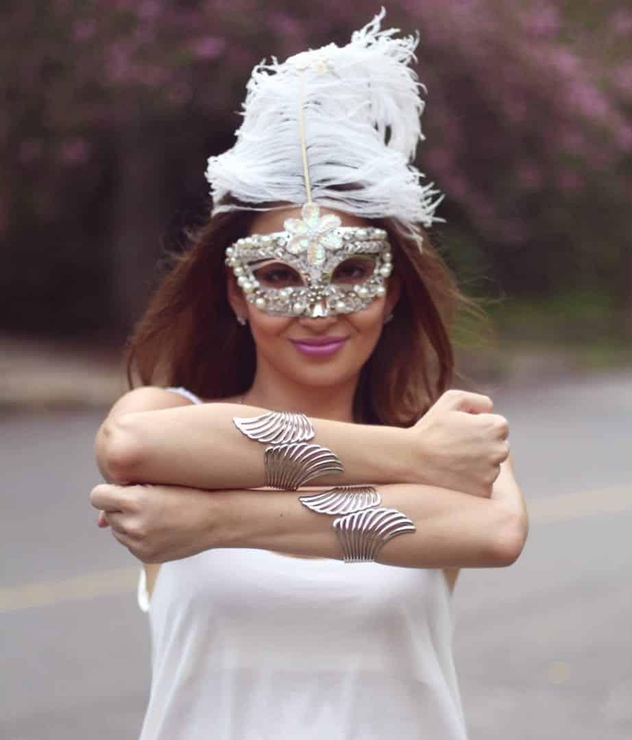 Máscaras de carnaval- 15 ideias par você se inspirar nesse carnaval!