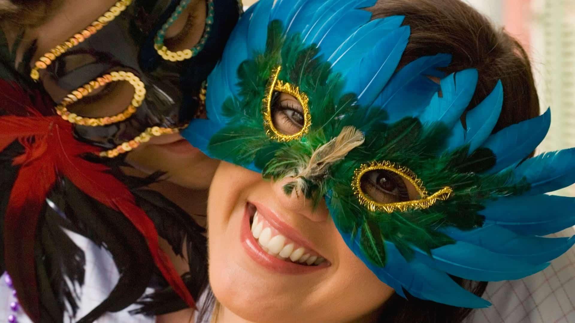 Máscaras de carnaval - 15 ideias e inspirações para te ajudar