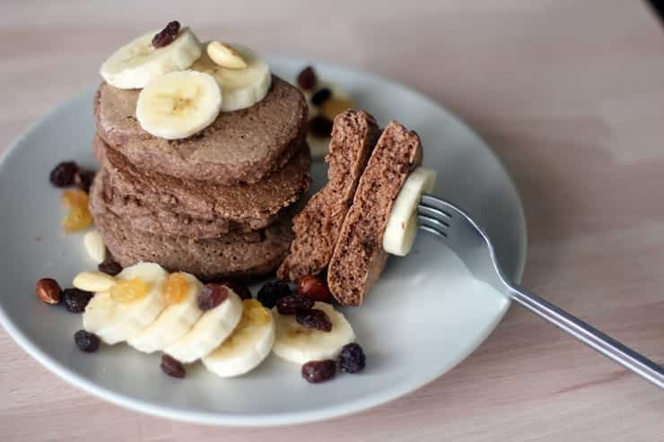 Panqueca de banana com aveia - uma receita fácil e deliciosa de fazer