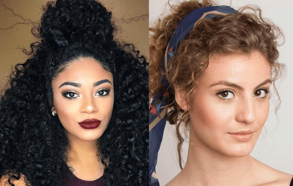 Penteados para cabelos cacheados – Ideias, dicas e muitas inspirações