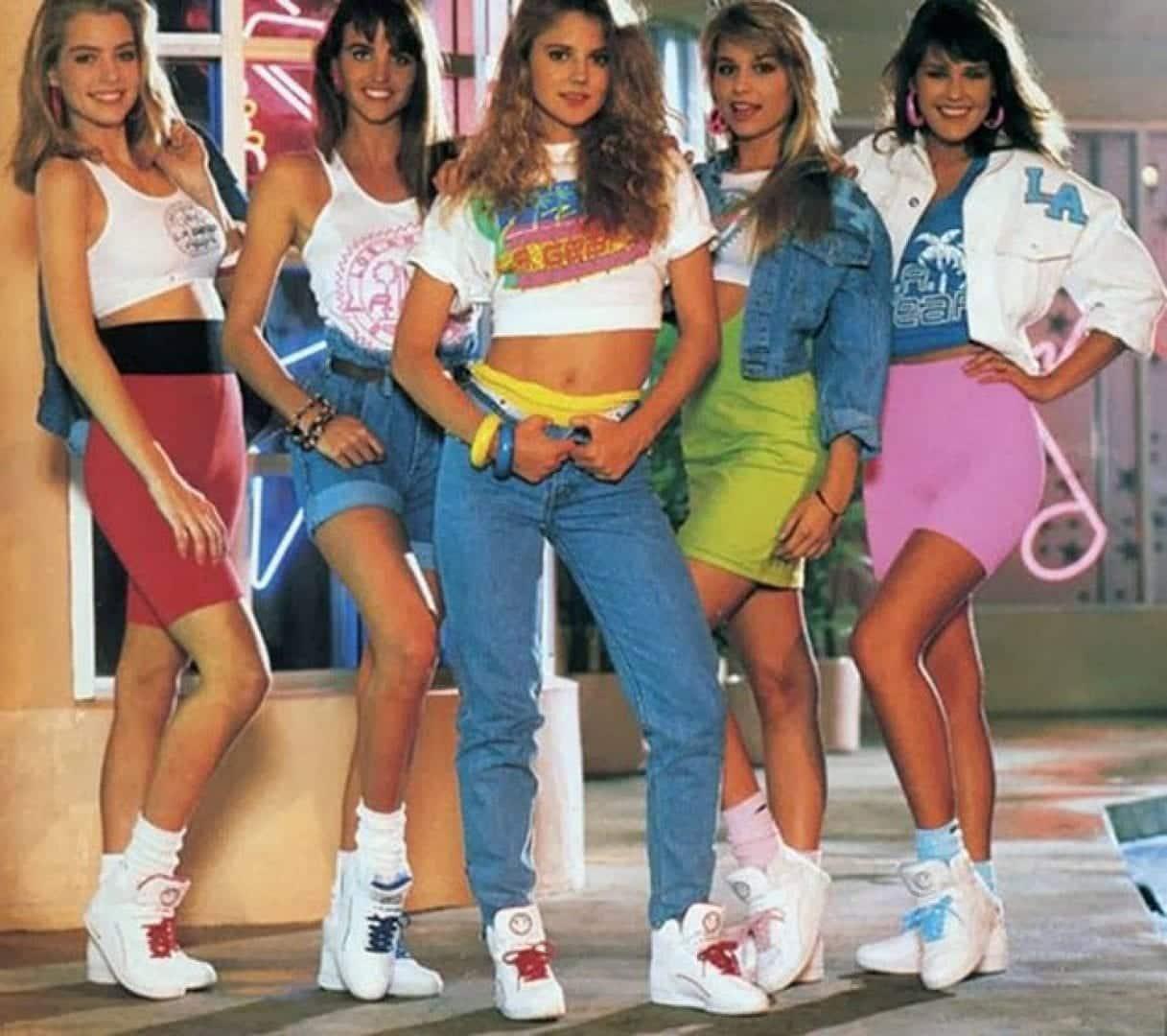 Roupas anos 80- Como usar, peças principais + tendências da época