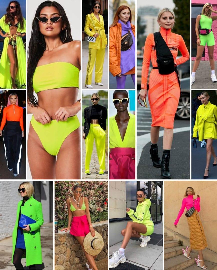 Roupas neon- Ideias de looks, como usar e quais peças investir