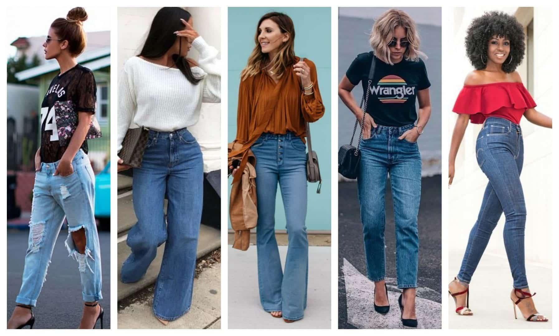 Tipos de calças - Calça jeans e 19 opções para arrasar no look