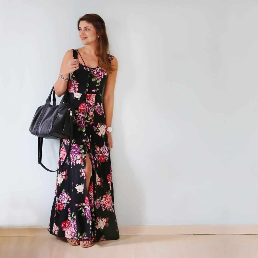 Como usar vestido longo? com muitas opções essa dúvida é constante