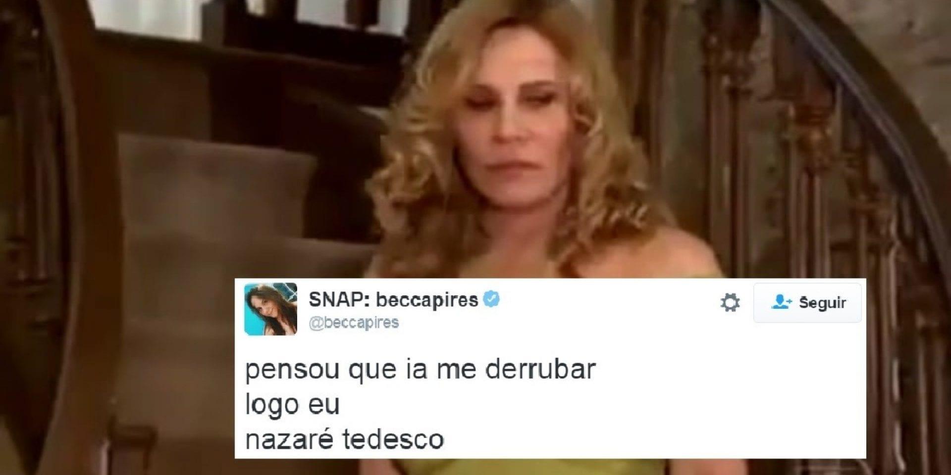 Nazaré Tedesco: Da novela para os memes