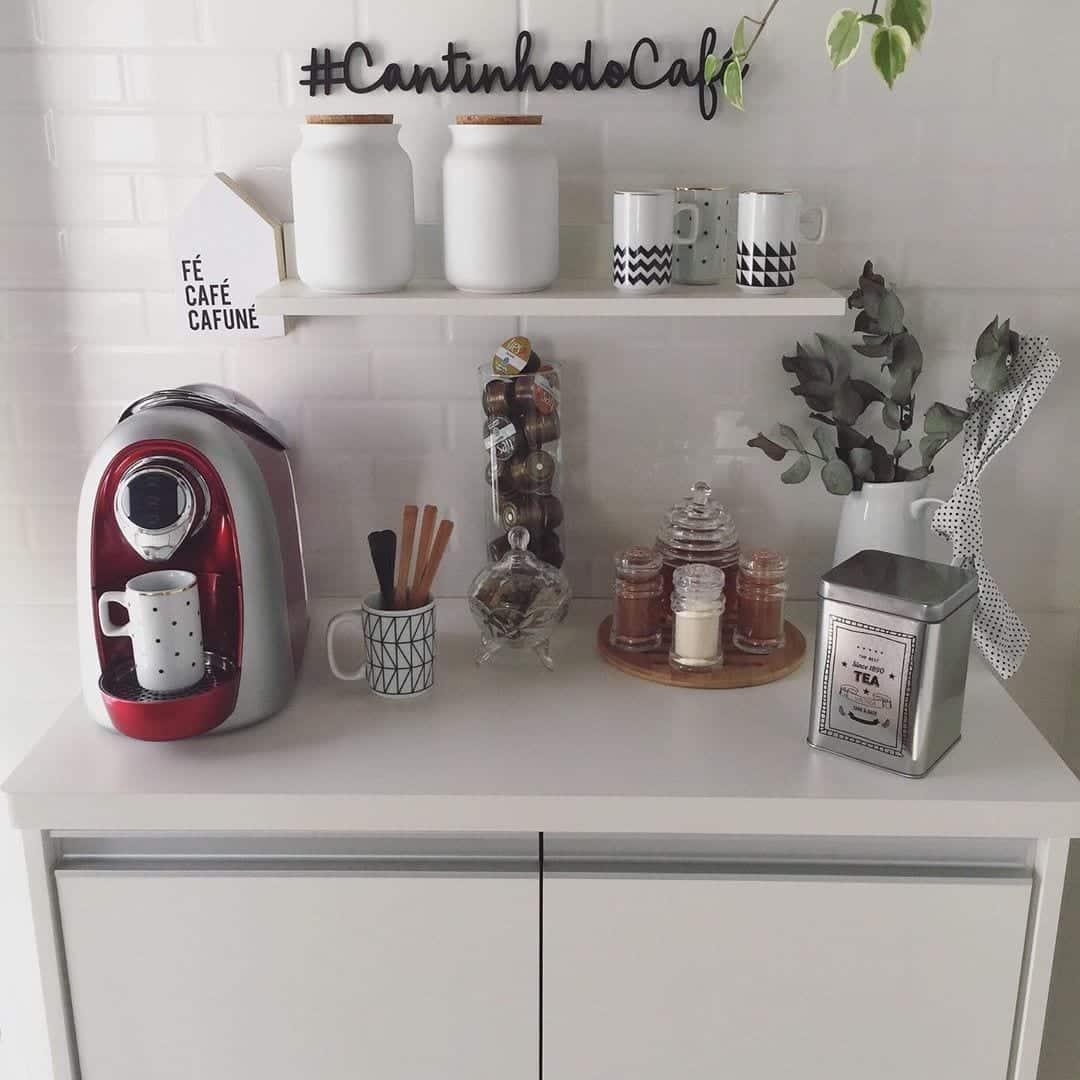 Cantinho do café - Como montar e decorar