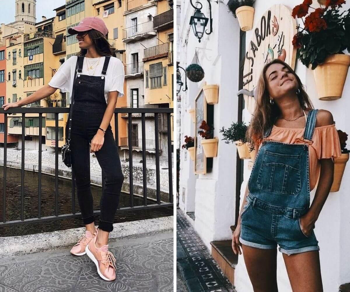 Como usar macacão jeans - Looks e modelos de inspiração
