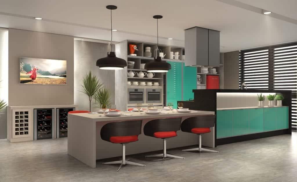 Cozinha decorada – Dicas e inspirações para decorar sua cozinha