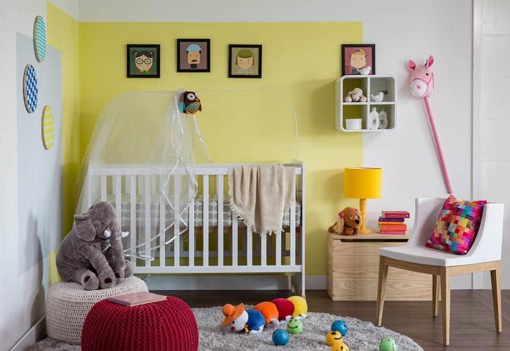 Decoração de quarto infantil – 16 dicas e inspirações