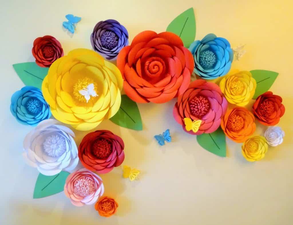 Flores de papel – O que é, tipos e como fazer de forma simples