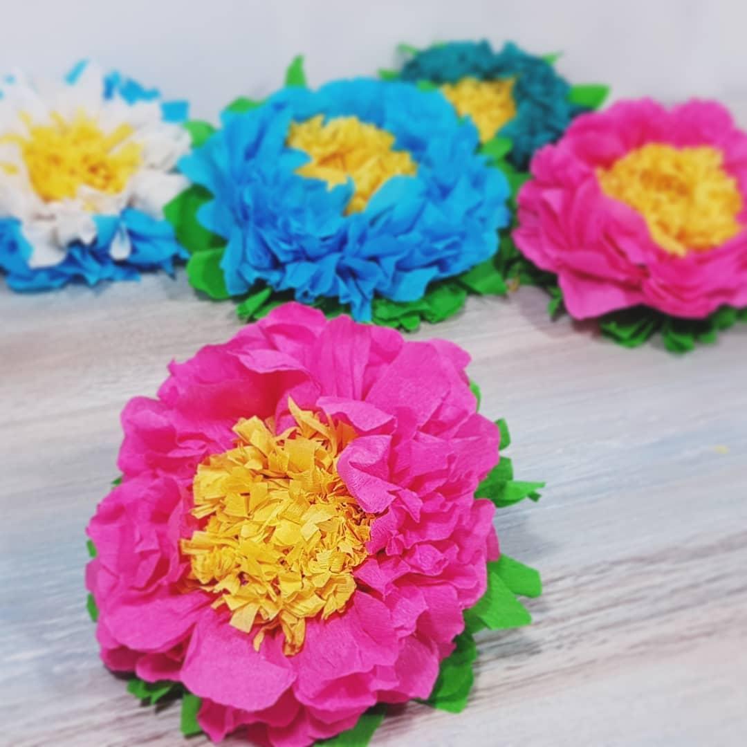 Flores de papel: Como fazer de forma simples