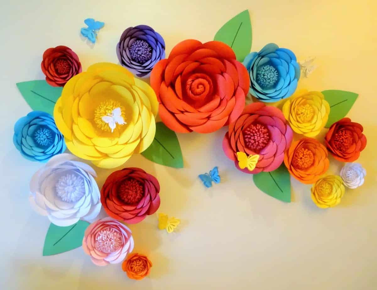 Flores de papel - O que é, tipos e como fazer de forma simples