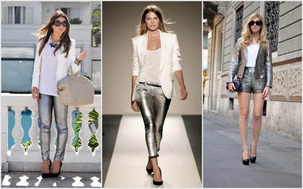 Metalizados- Inspirações e dicas de como usar looks com a tonalidade