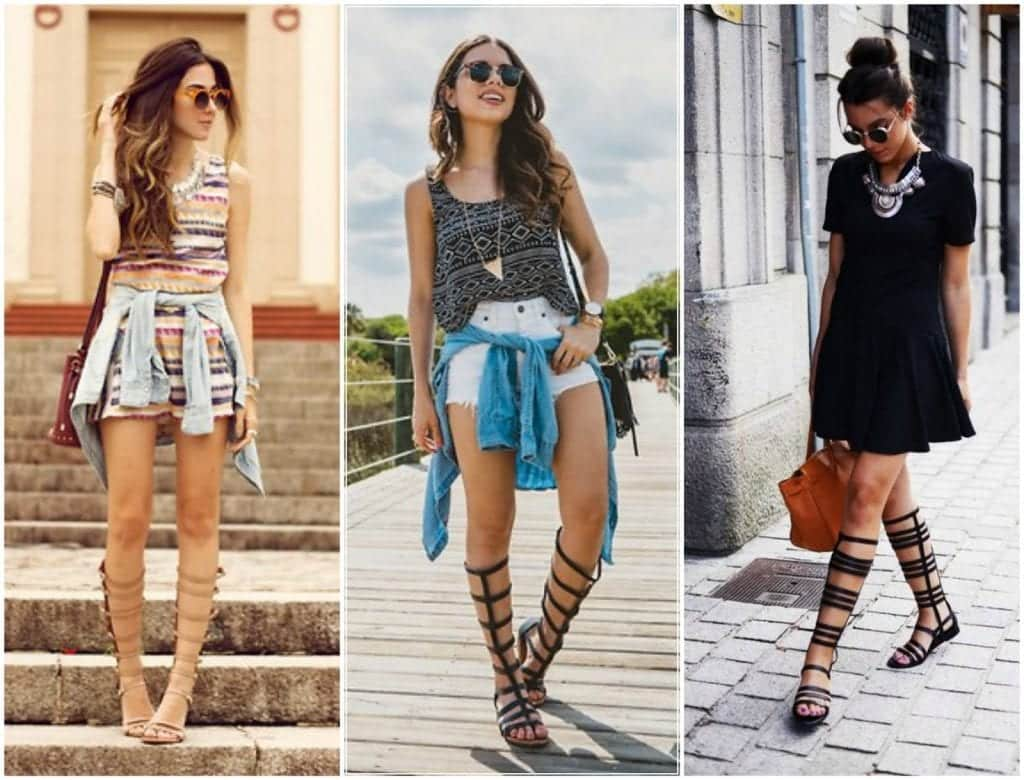 Sandálias gladiadoras – Como usar, looks, modelos e dicas para arrasar