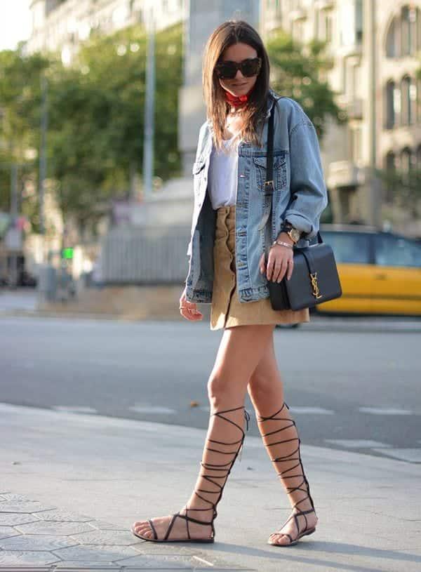 Sandálias gladiadoras- Como usar, looks, modelos e dicas para arrasar