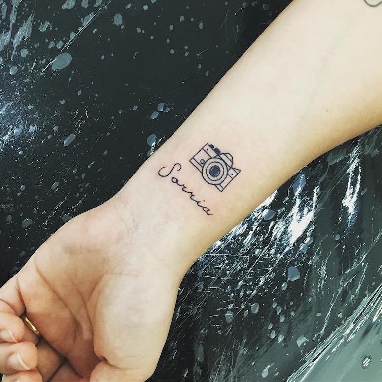 Tatuagem minimalista- Quais são, características + Modelos de inspiração