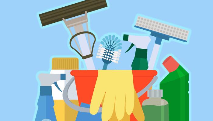 Divisão de tarefas domésticas - limpeza e inclusão nas funções