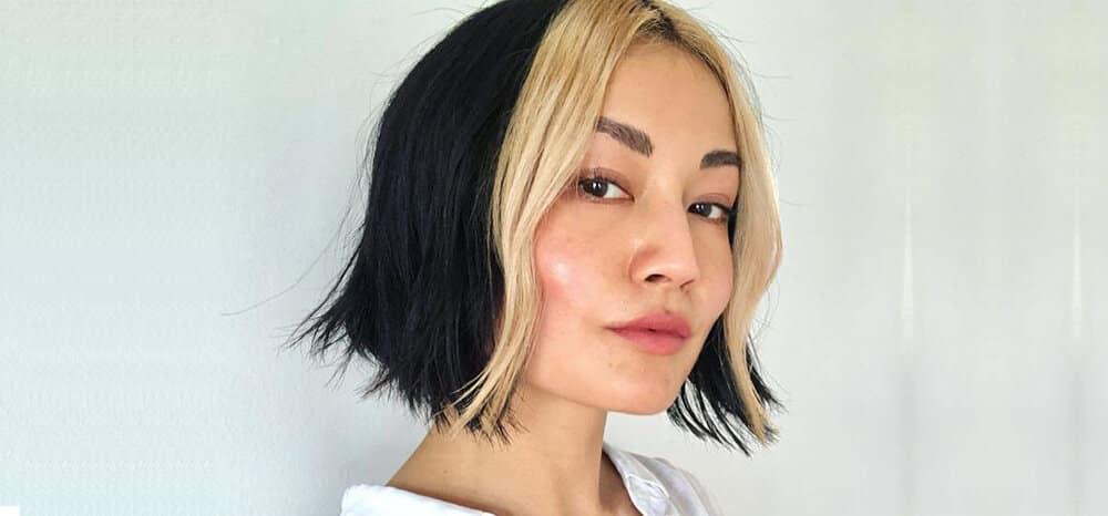 Mecha branca no cabelo - Origem e modelos inspiradores