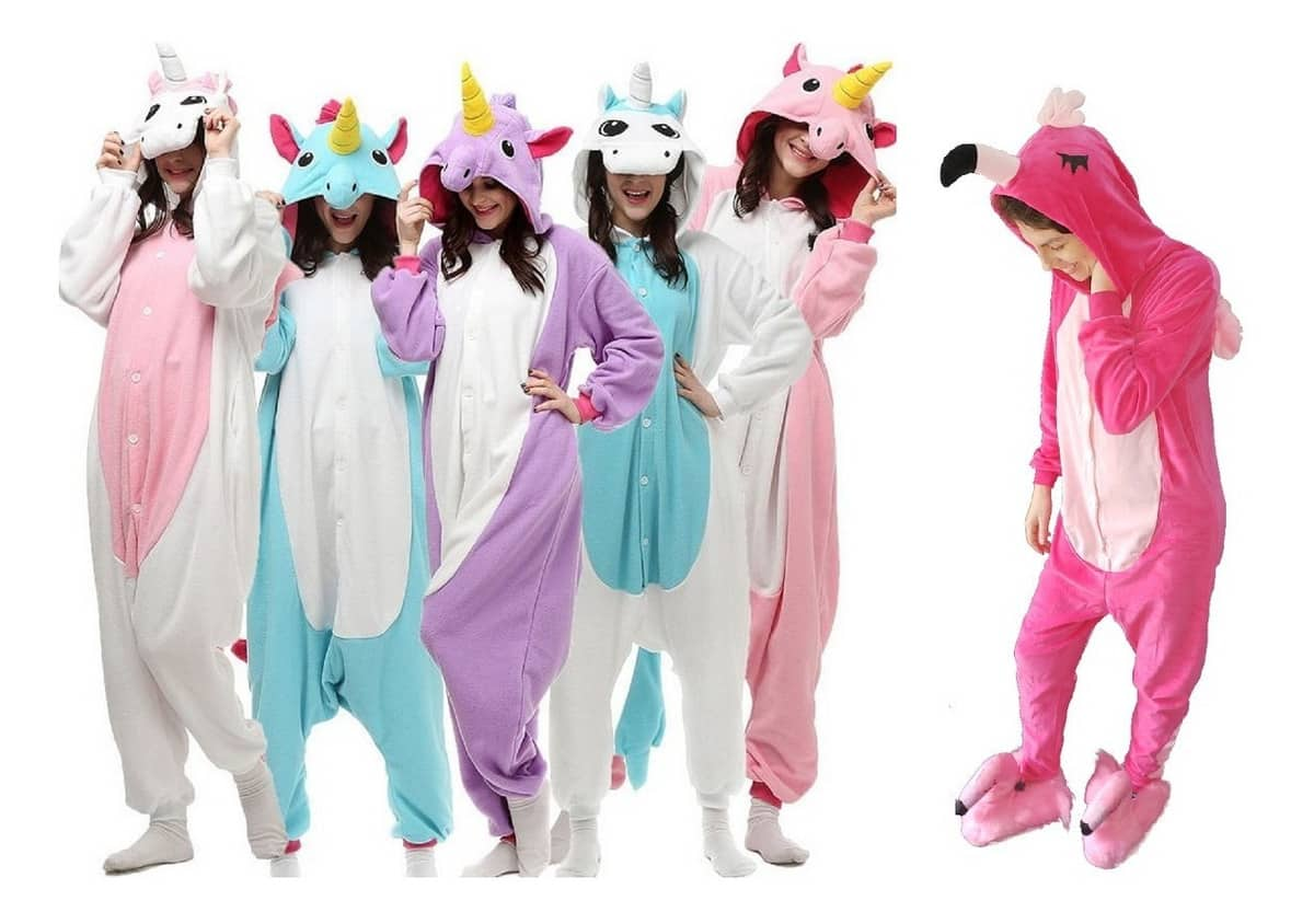 Pijama de unicórnio - origem,