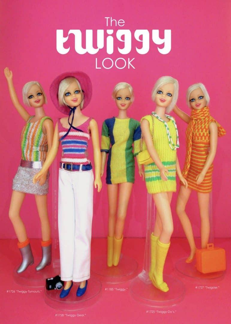Twiggy - A supermodelo britânica ícone fashion dos anos 60