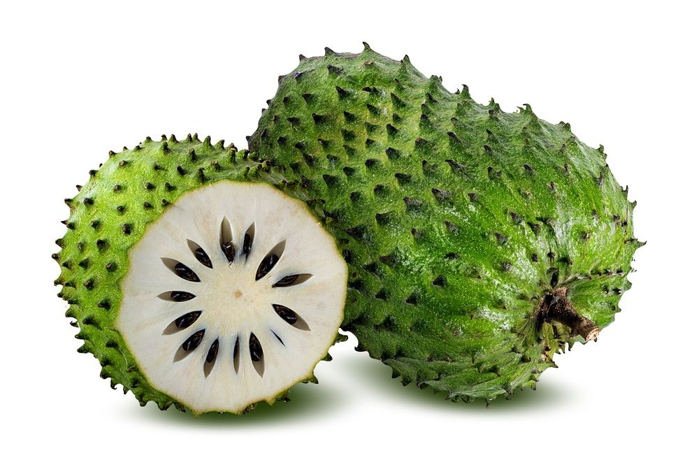 fruta graviola