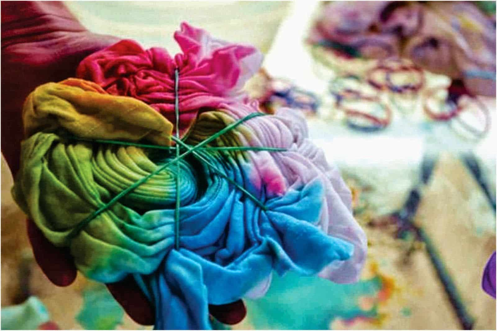 tingimento tie dye