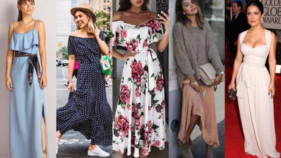 Maxi vestidos – Dicas de como combinar a peça tendência + inspirações