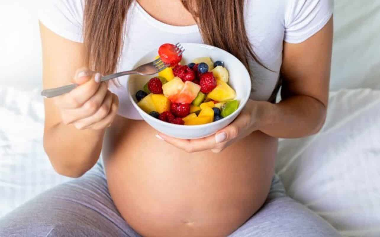 Alimentação de grávida