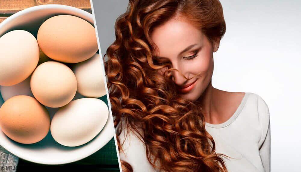 ovos para o cabelo crescer