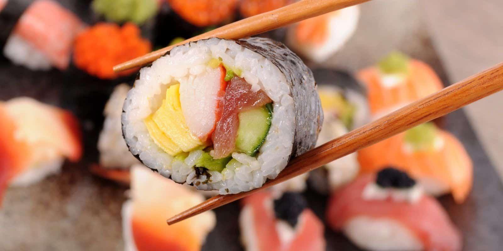 Receita de sushi