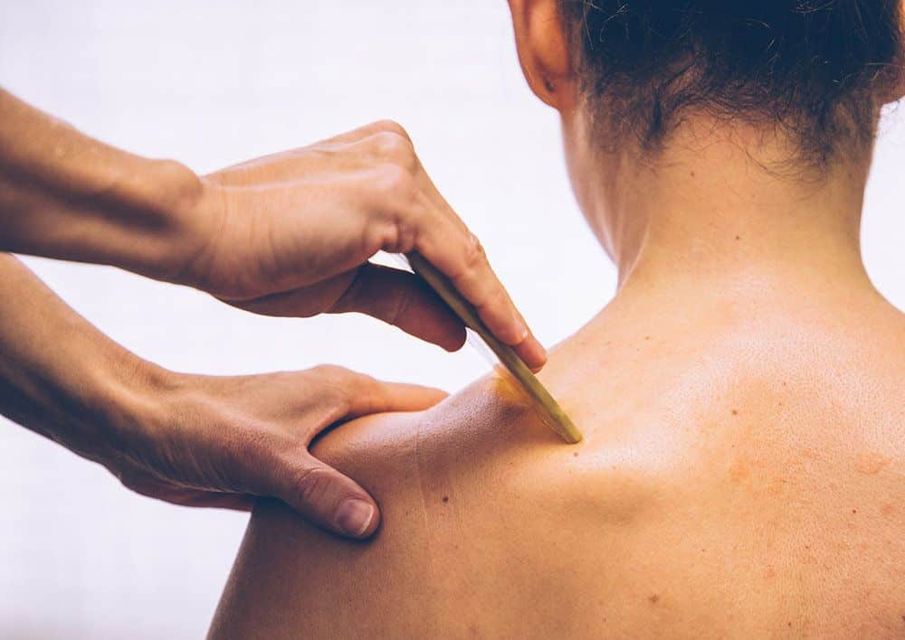 Técnica de massagem