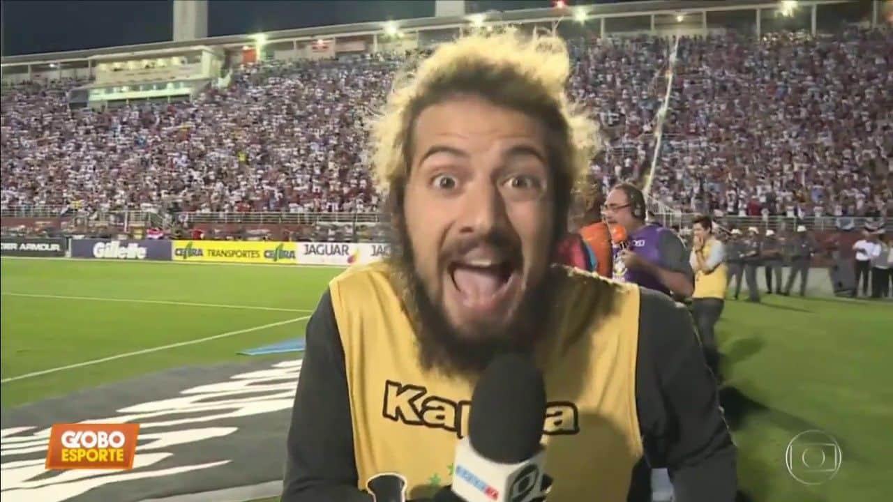 Lucas Strabko na Globo