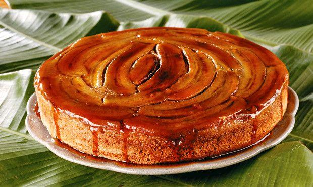 torta de banana