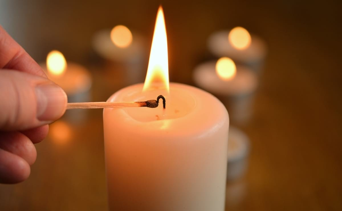 Acender velas
