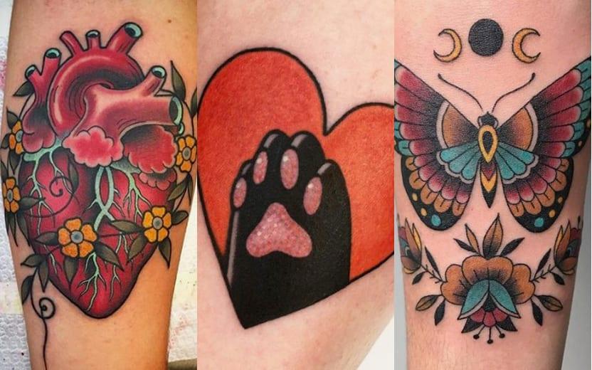 Tatuagem old school para mulheres – Origem e modelos para escolher