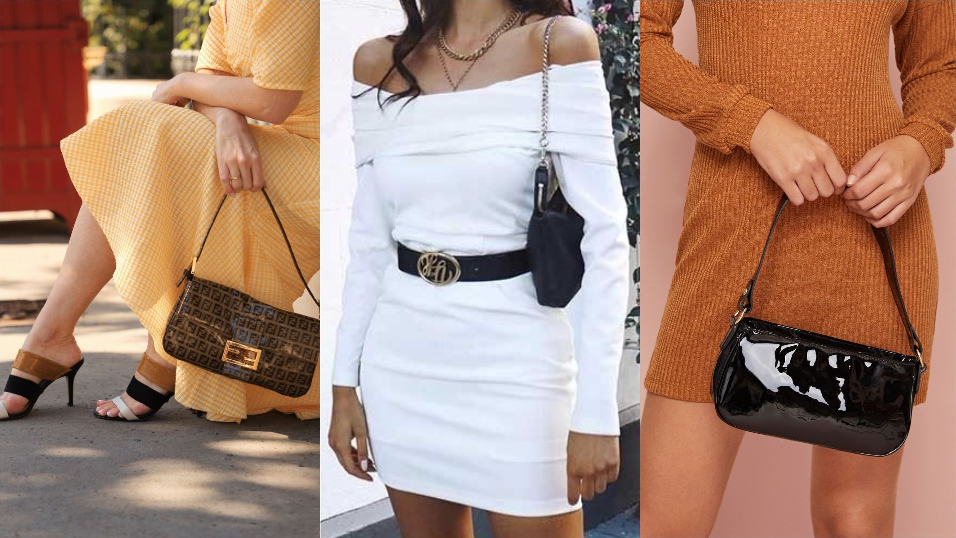 Vestidos com bolsa