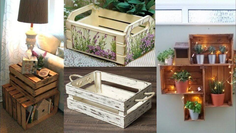 Caixote de feira – Utilidades e ideias geniais para usar na decoração