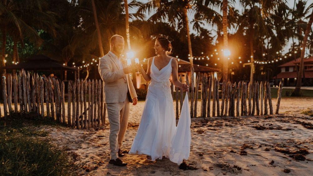 casamento na praia dos carneiros